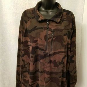 Starter Camouflage Fleece Shirt